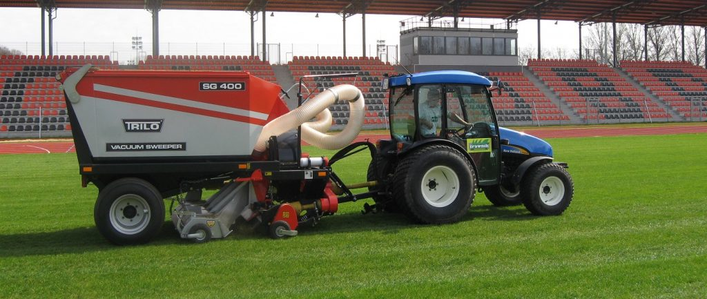 Sports ground maintenance